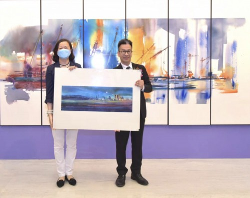 Local artist Wilson Lam 'comes of age in his 60s'