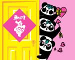 熊貓式愛情——愛到,愛到底!