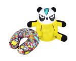 新品推介:梳打熊貓可變頸枕!
